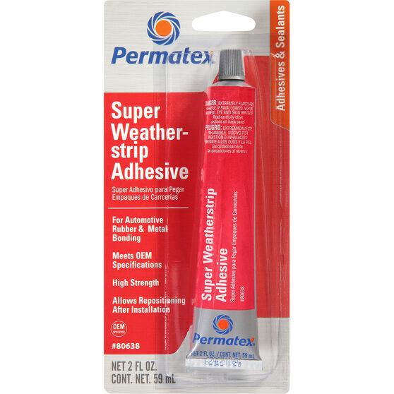 Permatex Super Weatherstrip Adhesive - 59mL, , scaau_hi-res
