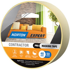 Norton Expert 3 Day Masking Tape - 48mm x 50m, , scaau_hi-res
