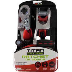 Ratchet Tie Down - 3.6m, 450kg, 2 Pack, , scaau_hi-res