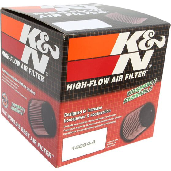 K&N Pod Air Filter - 3 inch, Polished, KNRR-3003, , scaau_hi-res