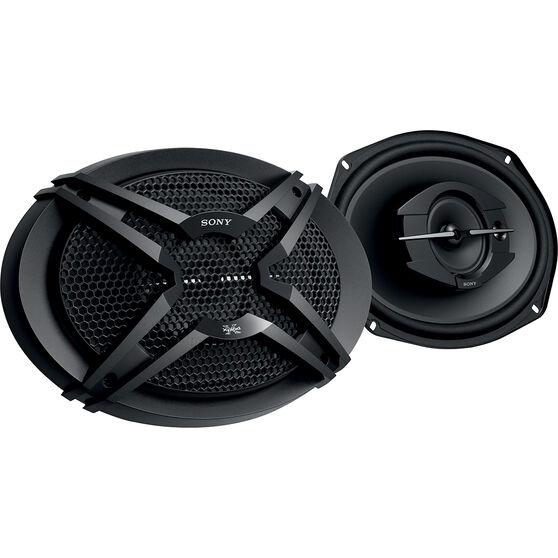 Sony 6 inch x 9 inch 3 Way Speakers - XS-GTF6939, , scaau_hi-res