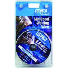 Cigweld Gas Welding MiniSpool Mig Wire - 0.6mm, , scaau_hi-res