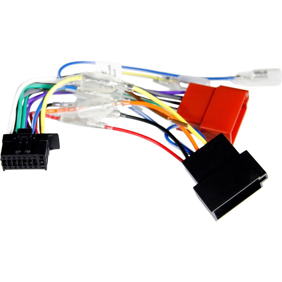 wiring harness kenwood 16 pin supercheap auto rh supercheapauto com au kenwood wiring harness best buy kenwood wiring harness adapter