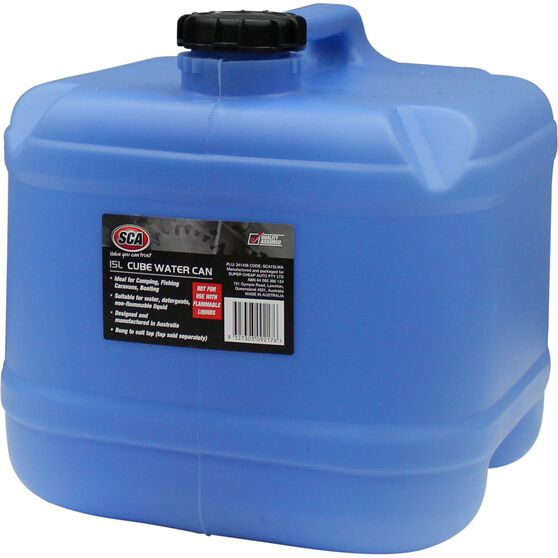 SCA Water Carry Can, Cube - 15 Litre, Blue, , scaau_hi-res