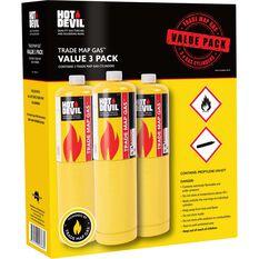 Hot Devil MAP Pro Gas - 3 Pack, , scaau_hi-res