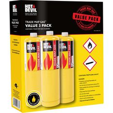 Hot Devil MAP Pro Gas - 3 Pack, , scaau_hi-res