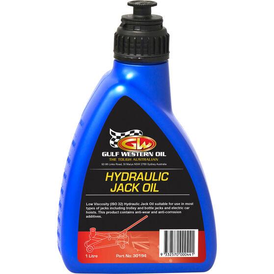 Gulf Western Hydraulic Jack Oil - 1 Litre, , scaau_hi-res