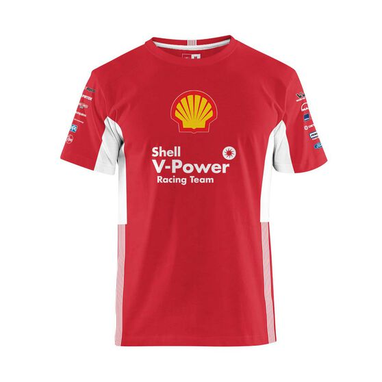 Shell V-Power Racing Team Men's 2020 T-Shirt, Red, scaau_hi-res