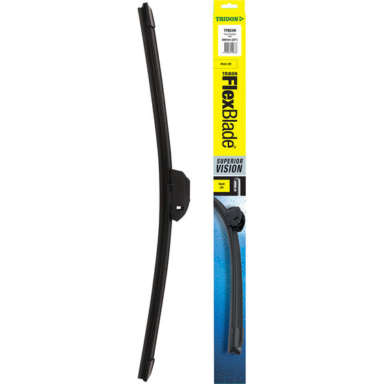 Tridon FlexBlade Single Wiper 24 Inch Hook, , scaau_hi-res