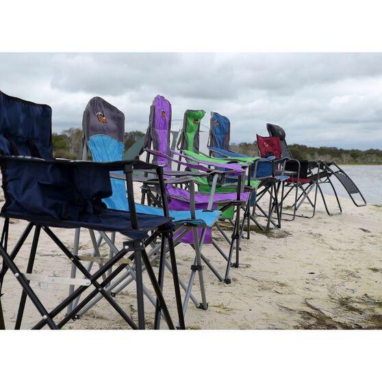 Ridge Ryder Savannah Camping Chair - 150kg, , scaau_hi-res