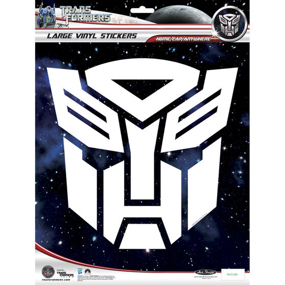 Hot Stuff Sticker - Transformers, White, Vinyl, , scaau_hi-res