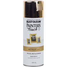 Rustoleum Aerosol Paint - Painters Touch Plus, Metallic Gold, , scaau_hi-res
