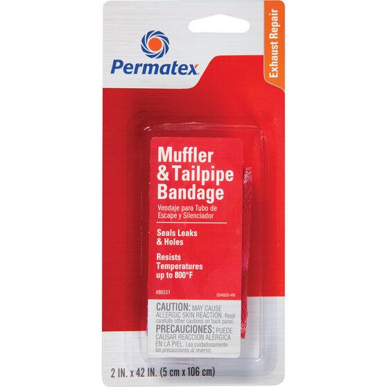 Permatex Muffler and Tailpipe Bandage - 5 x 106cm, , scaau_hi-res