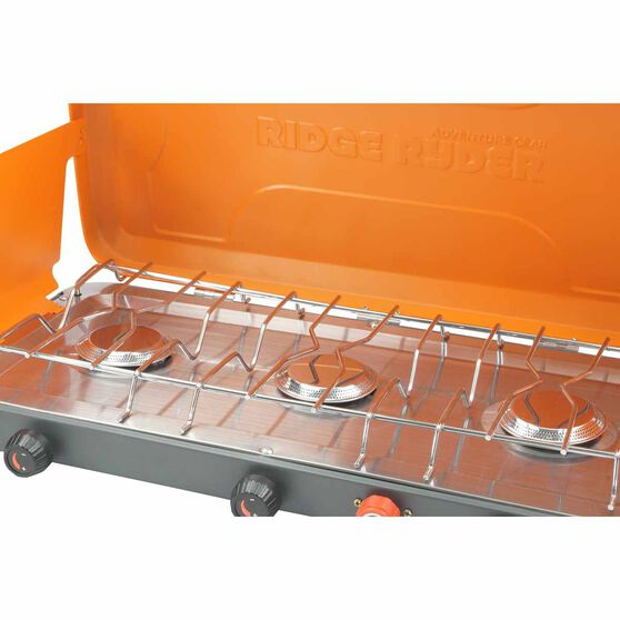 Ridge Ryder Gas Stove - 3 Burner with Drip Tray, , scaau_hi-res