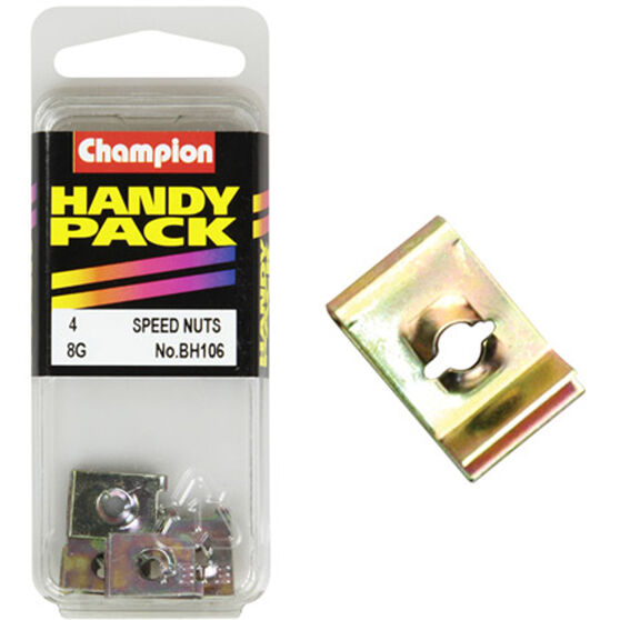 Champion Speed Nuts (Clips) - 8G, BH106, Handy Pack, , scaau_hi-res