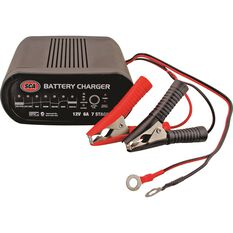 Battery Charger - 7 Stage, 12 Volt, 6 Amp, , scaau_hi-res