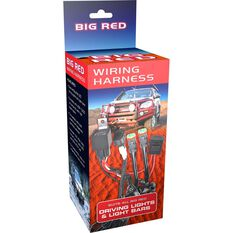 Big Red Driving light, wiring harness, , scaau_hi-res