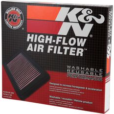 K&N Air Filter - 33-2966 (Interchangeable with A1747), , scaau_hi-res