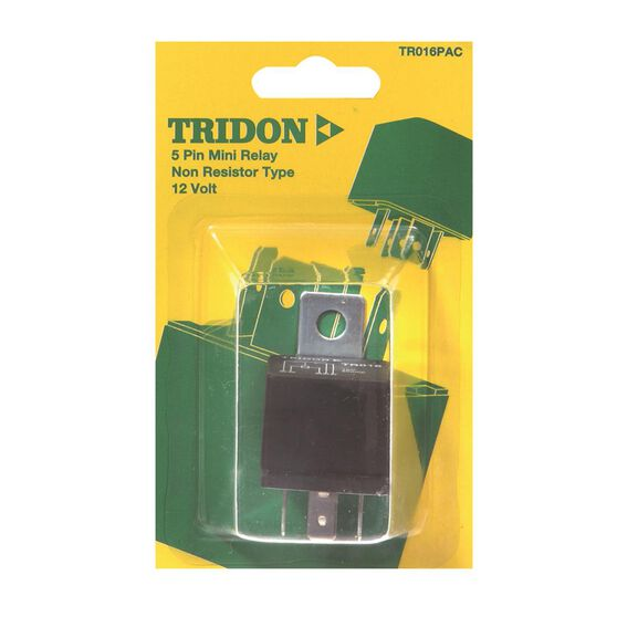 Tridon Mini Relay - 30 AMP, 5 Pin, , scaau_hi-res