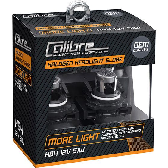 Calibre Headlight Globe Plus 90 - HB4, 12V, 55W, , scaau_hi-res