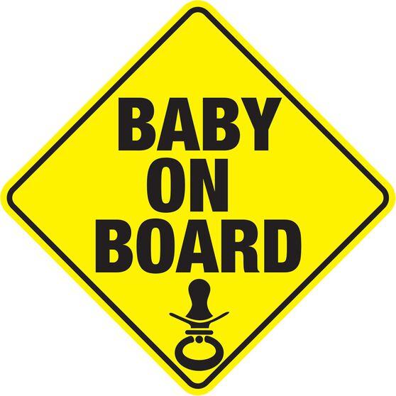 Hot Stuff Sticker - Baby on Board, Vinyl, , scaau_hi-res