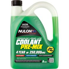 Nulon Long Life top Up Coolant Green - 5 Litres, 3 Pack, , scaau_hi-res