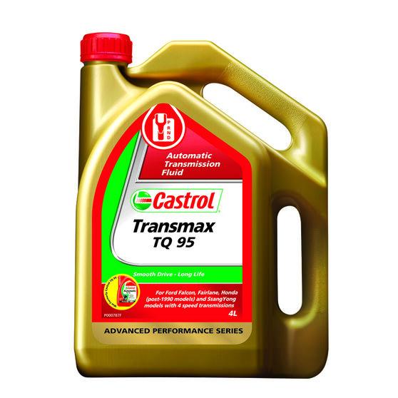 Castrol Auto Transmission Fluid - Transmax TQ95, 4 Litre, , scaau_hi-res