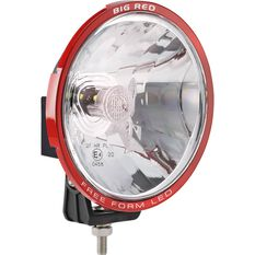 Big Red LED Driving Light - Round, 180mm, , scaau_hi-res