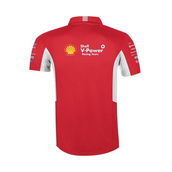 Shell V-Power Racing Team Men's 2020 Polo, Red, scaau_hi-res