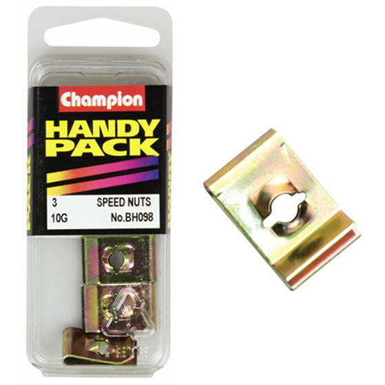 Champion Speed Nuts (Clips) - 10G, BH098, Handy Pack, , scaau_hi-res