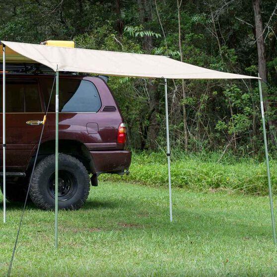 Ridge Ryder Premium 4WD Awning Front Wall 2.0 x 2.2m, , scaau_hi-res