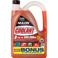 Nulon Red Anti-Freeze / Anti-Boil Concentrate Coolant - 6 Litre, , scaau_hi-res
