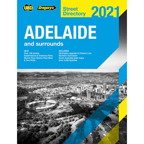 UBD Street Directory Adelaide 59TH 2021, , scaau_hi-res