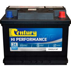 Century Car Battery - DIN53LH MF, 500CCA, , scaau_hi-res