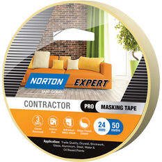 Norton Expert 3 Day Masking Tape -  24mm x 50m, , scaau_hi-res