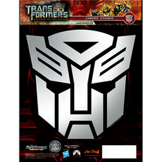 Hot Stuff Sticker - Transformers Autobots, Chrome, , scaau_hi-res