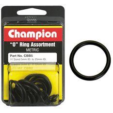 Champion O Ring Pack - 5-25mm, CBB5, , scaau_hi-res