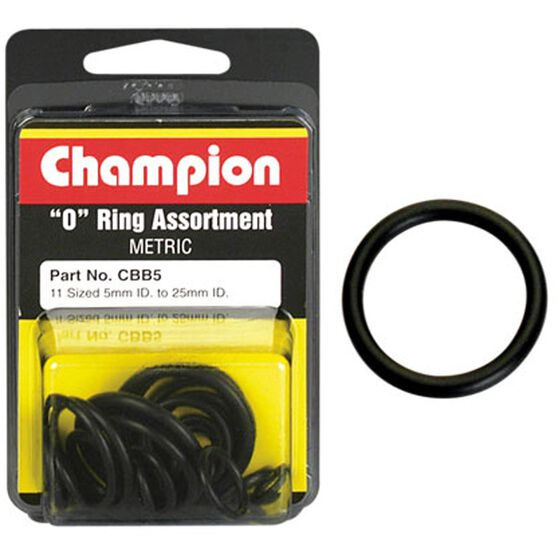 Champion O Ring Pack - 5-25mm, CBB5, , scaau_hi-res