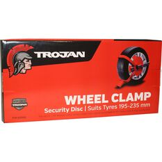 Trailer Wheel Clamp Defender Suits 195-235mm Tyres, , scaau_hi-res