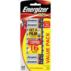Energizer Max AA Batteries - 16 pack, , scaau_hi-res
