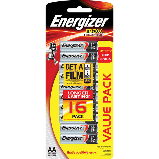 Energizer Max AA Batteries - 16 pack, , scaau_hi-res