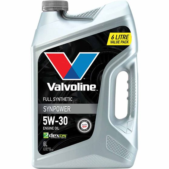 Valvoline Synpower Engine Oil 5W-30 6 Litre, , scaau_hi-res