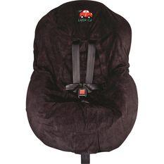 Little Car Seat Cover - Black, , scaau_hi-res