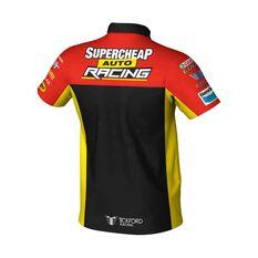 Supercheap Auto Racing Men's 2020 Team Polo, Black, scaau_hi-res