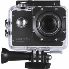 Gator 1080P Sports Action Camera with Waterproof Case, , scaau_hi-res