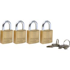 Master Lock Fortress Padlock - 20mm, 4 Pack, , scaau_hi-res