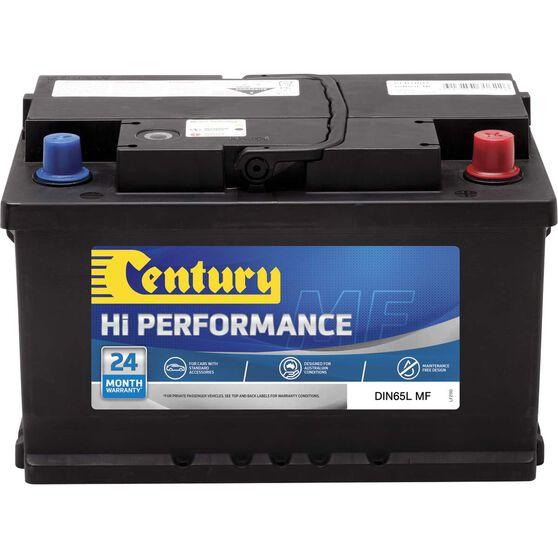 Century Hi Performance Car Battery DIN65L MF, , scaau_hi-res