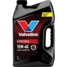 Valvoline Super Diesel Engine Oil 15W-40 5 Litre, , scaau_hi-res