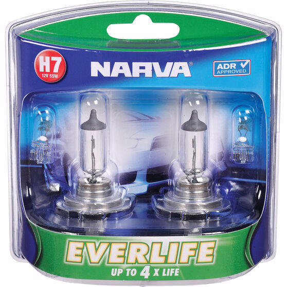 Narva Everlife Long Life Headlight Globe - H7, 12V, 55W, , scaau_hi-res