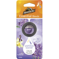 Armor All Vent Air Freshener Essential Blends Vanilla Lavender 2.5mL, , scaau_hi-res
